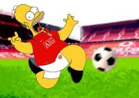 Should Homer Simpson join Manchester United Instead Of you? Quiz ...